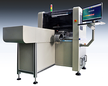 Manncorp MC-LEDV4 pick & place machine for LED assembly