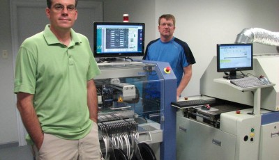 Applied Control and Measurement LLC SMT assembly line