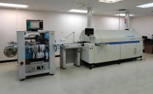 Sensaphone SMT assembly line